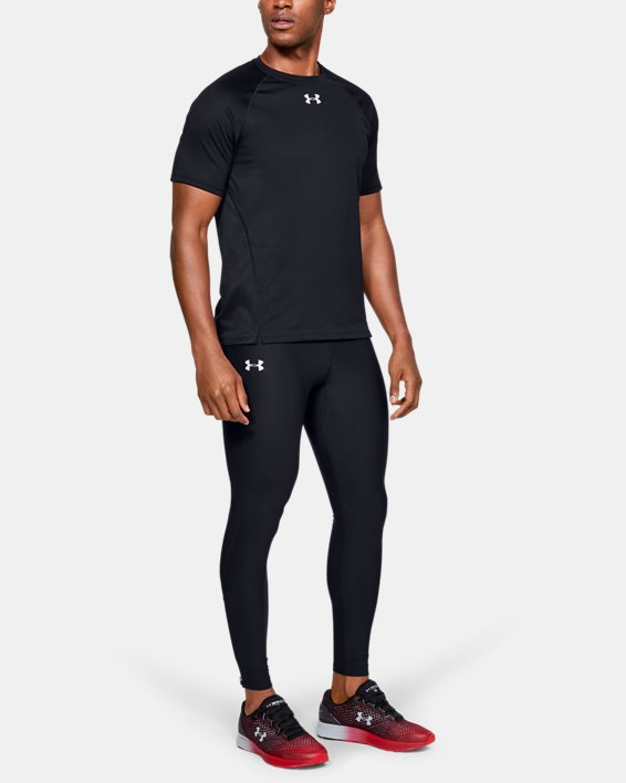 Men's UA Qualifier Tights, Black, pdpMainDesktop image number 1