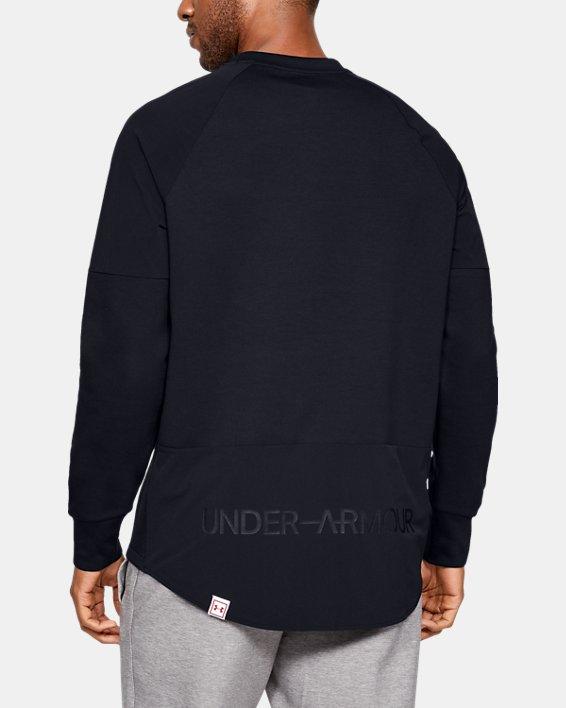 Men's UAS Sweatshirt, Black, pdpMainDesktop image number 2