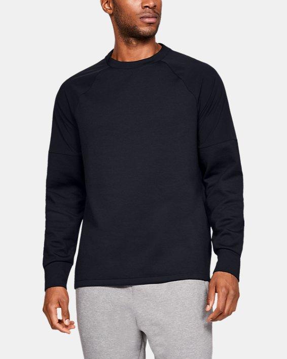 Men's UAS Sweatshirt, Black, pdpMainDesktop image number 0