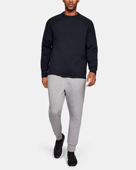 Men's UAS Sweatshirt, Black, pdpMainDesktop image number 1