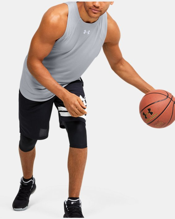 Men's UA Baseline Performance Tank, Gray, pdpMainDesktop image number 1