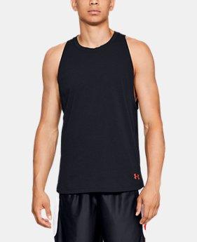 4d194cb07dba9 New to Outlet Men s UA Baseline Cotton Tank 1 Color Available  18.99