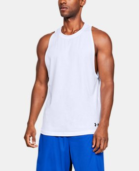 Men s UA Baseline Cotton Tank 4 Colors Available  25 8f104d597