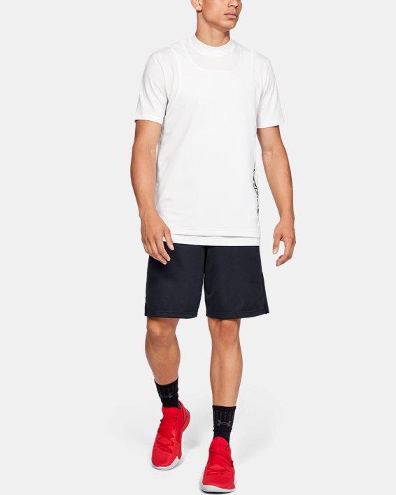 Men's UA Pursuit Court Shorts, Black, pdpMainDesktop image number 1
