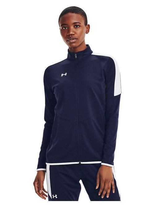 Under Armour UA Knit Track Suit Youth X-Large Black