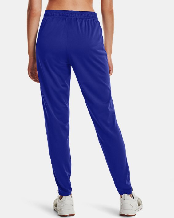 Women's UA Rival Knit Pants, Blue, pdpMainDesktop image number 2