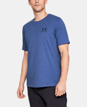Men's UA Sportstyle Left Chest Short Sleeve Shirt LIMITED TIME: FREE SHIPPING 10  Colors Available $30