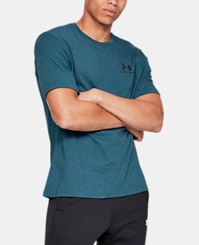 fa7f0a1cd Men s UA Sportstyle Left Chest Short Sleeve Shirt LIMITED TIME  25% OFF 2  Colors