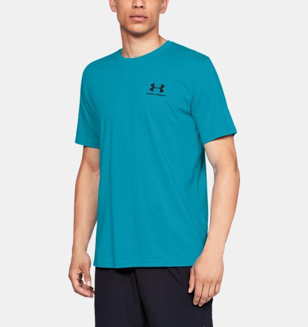 d7013fd6bb Men's UA Sportstyle Left Chest Short Sleeve Shirt