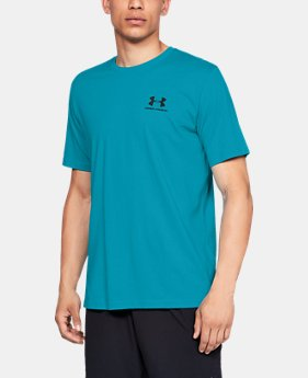 Men's UA Sportstyle Left Chest Short Sleeve Shirt  3  Colors Available $25