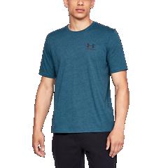 UA Sportstyle – T-shirt à manches courtes avec logo à gauche de la poitrine 665bda04b41