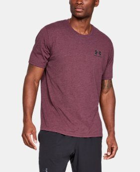 Men's UA Sportstyle Left Chest Short Sleeve Shirt LIMITED TIME: FREE SHIPPING 7  Colors Available $30