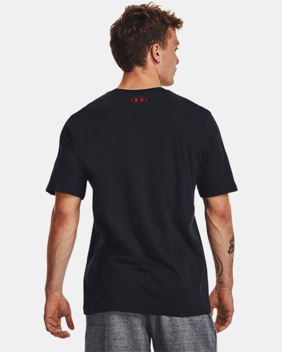 Men's UA GL Foundation Short Sleeve T-Shirt, Black, pdpMainDesktop image number 2
