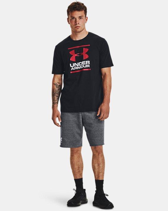 Men's UA GL Foundation Short Sleeve T-Shirt, Black, pdpMainDesktop image number 1