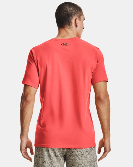 Men's UA GL Foundation Short Sleeve T-Shirt, Red, pdpMainDesktop image number 1