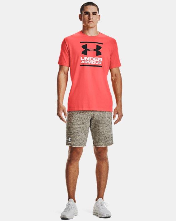 Men's UA GL Foundation Short Sleeve T-Shirt, Red, pdpMainDesktop image number 2