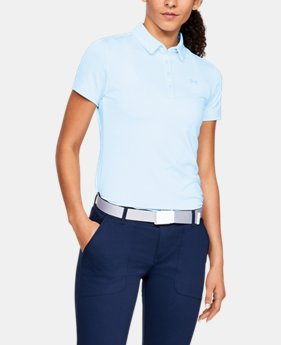 d8e85a41 New to Outlet Women's UA Zinger Short Sleeve Polo 2 Colors Available $39.99  to $46.99