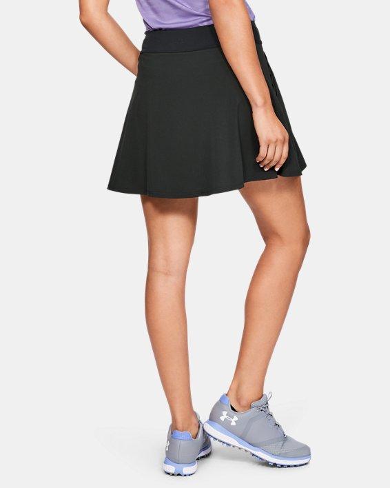 Jupe-short UA Links pour femme, Black, pdpMainDesktop image number 2