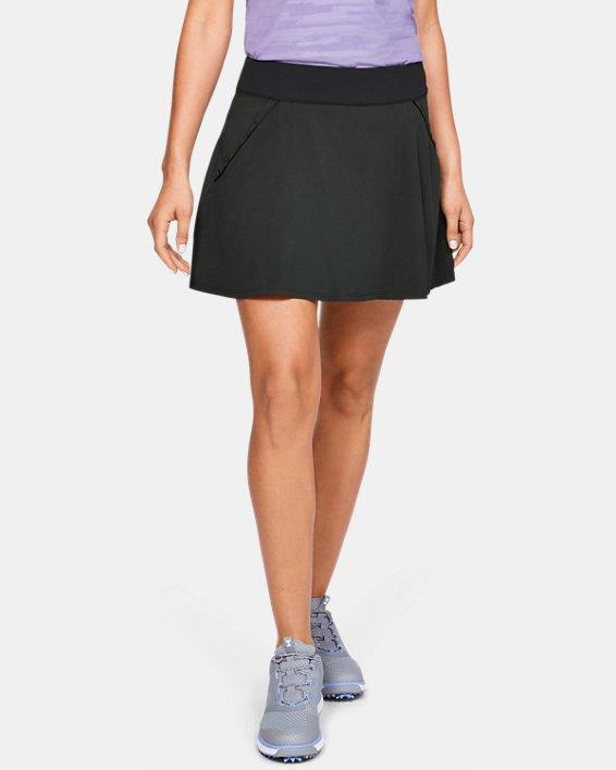 Jupe-short UA Links pour femme, Black, pdpMainDesktop image number 0