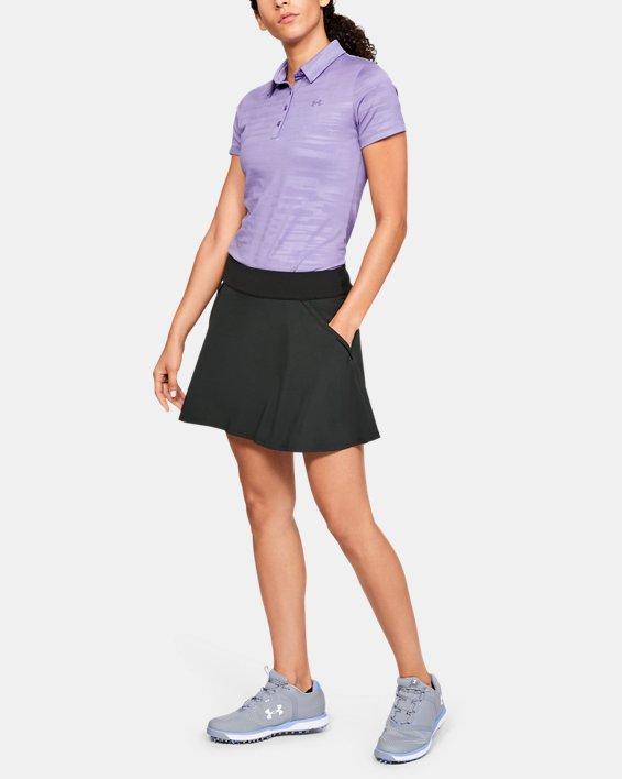 Jupe-short UA Links pour femme, Black, pdpMainDesktop image number 1