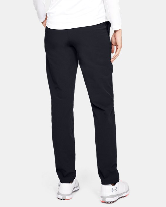 Women's UA Links Pants, Black, pdpMainDesktop image number 2