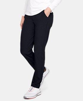 b4cbec1d2c Women's Black Golf Pants | Under Armour US
