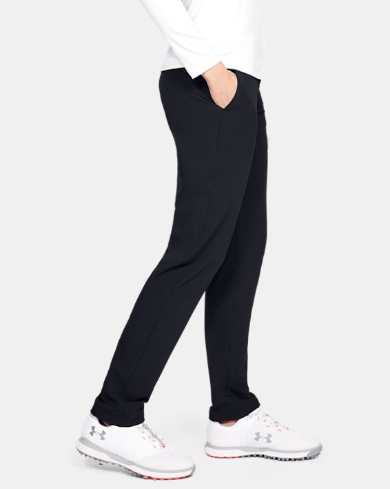 Women's UA Links Pants, Black, pdpMainDesktop image number 3