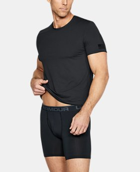 68123018 Men's UA Undershirt + Boxerjock® Set 2 Colors Available $45. 2 Colors  Available. Black; FEDERAL TAN