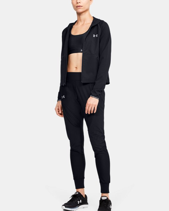 Women's UA Shake It Off 2.0 Jacket, Black, pdpMainDesktop image number 1