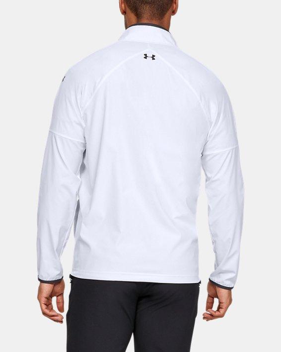 Men's UA Storm Windstrike Full Zip Jacket, White, pdpMainDesktop image number 2