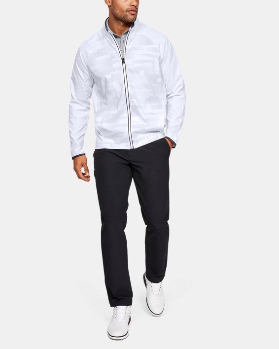 Men's UA Storm Windstrike Full Zip Jacket, White, pdpMainDesktop image number 1