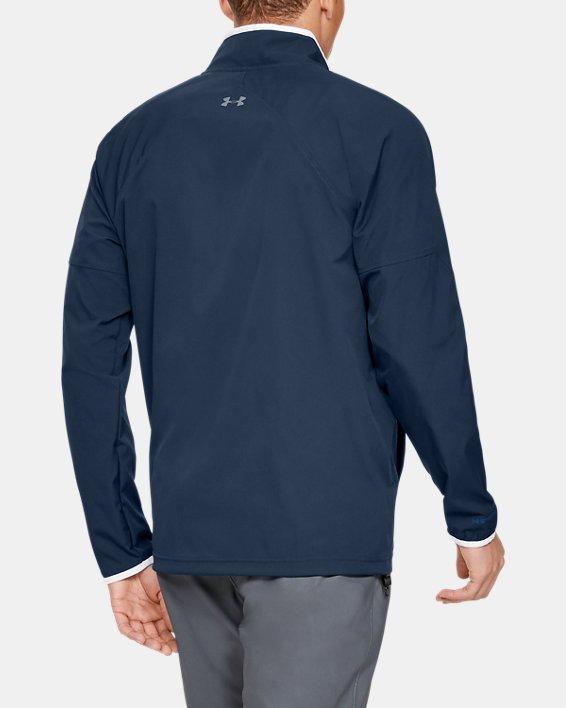Men's UA Storm Windstrike Full Zip Jacket, Navy, pdpMainDesktop image number 2