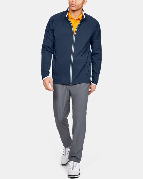 Men's UA Storm Windstrike Full Zip Jacket, Navy, pdpMainDesktop image number 1