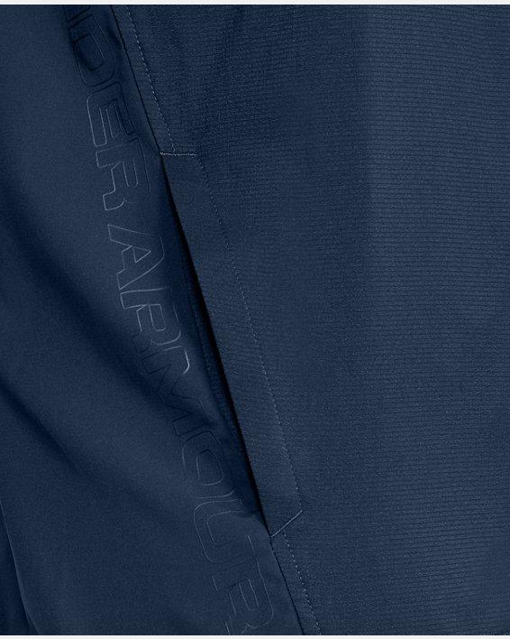 Men's UA Storm Windstrike Full Zip Jacket, Navy, pdpMainDesktop image number 6