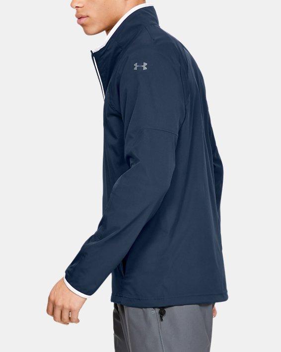Men's UA Storm Windstrike Full Zip Jacket, Navy, pdpMainDesktop image number 3