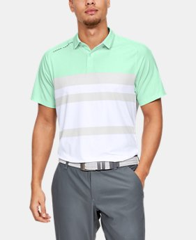 301cbfa8 Men's UA Iso-Chill Block Polo 1 Color Available $80