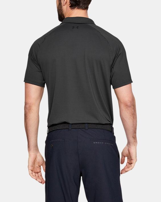 Men's UA Iso-Chill Airlift Polo, Gray, pdpMainDesktop image number 2