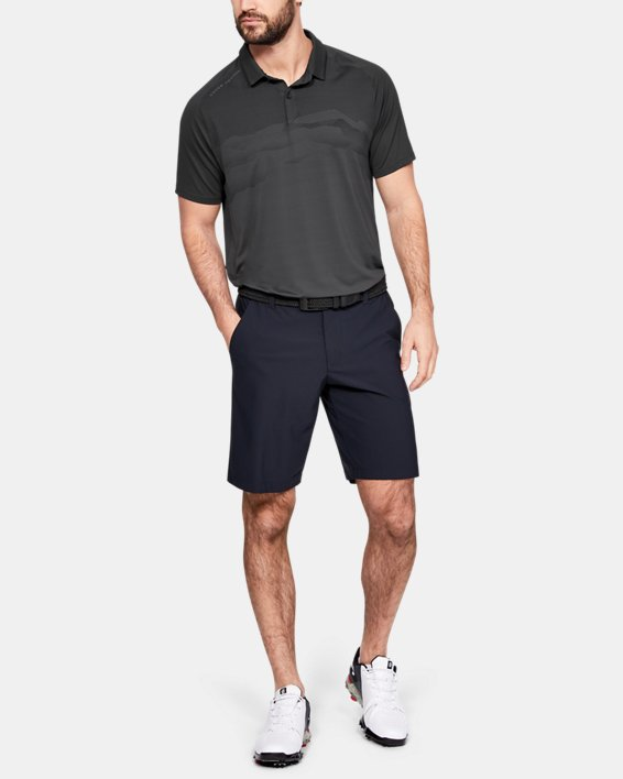 Men's UA Iso-Chill Airlift Polo, Gray, pdpMainDesktop image number 1