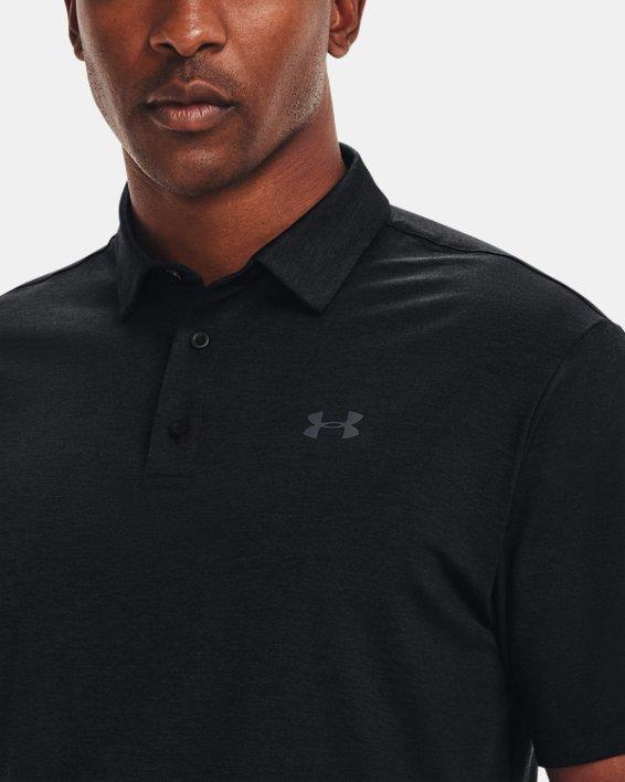 Men's UA Playoff Polo 2.0, Black, pdpMainDesktop image number 3