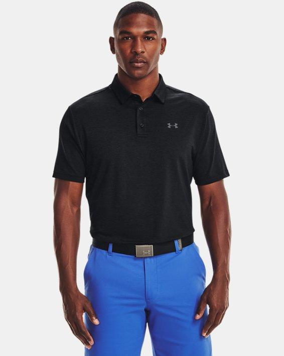 Men's UA Playoff Polo 2.0, Black, pdpMainDesktop image number 0