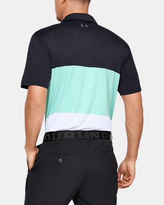 Men's UA Playoff Polo 2.0, Black, pdpMainDesktop image number 2