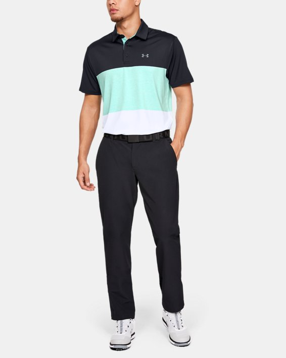 Men's UA Playoff Polo 2.0, Black, pdpMainDesktop image number 1
