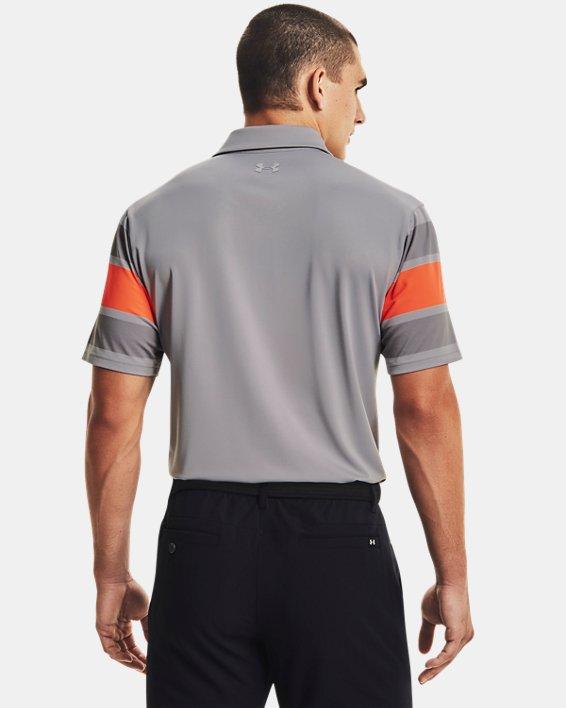 Men's UA Playoff Polo 2.0, Gray, pdpMainDesktop image number 1