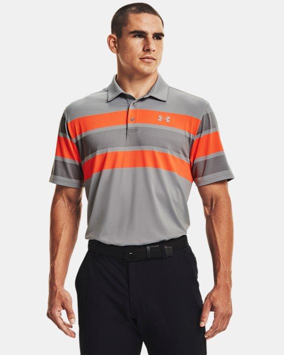 Men's UA Playoff Polo 2.0, Gray, pdpMainDesktop image number 0