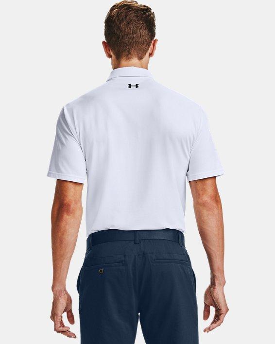 Men's UA Playoff Polo 2.0, White, pdpMainDesktop image number 2