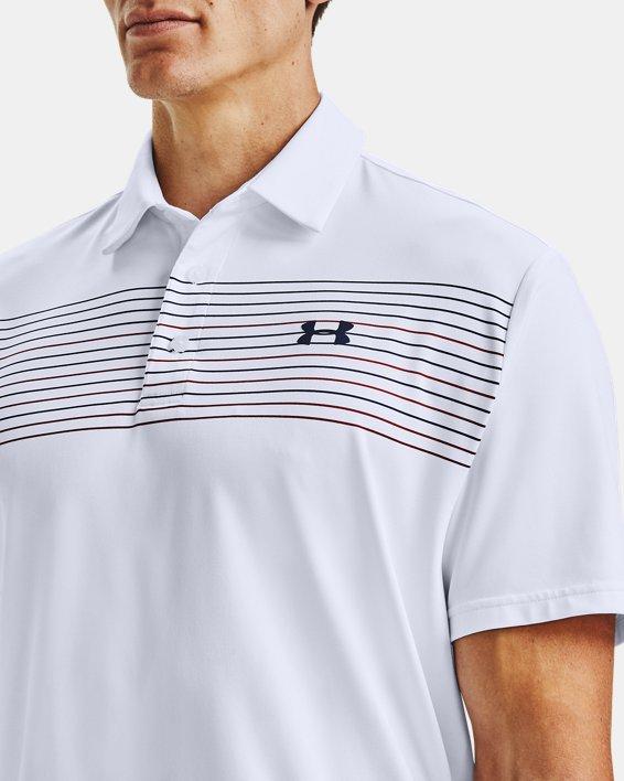 Men's UA Playoff Polo 2.0, White, pdpMainDesktop image number 5