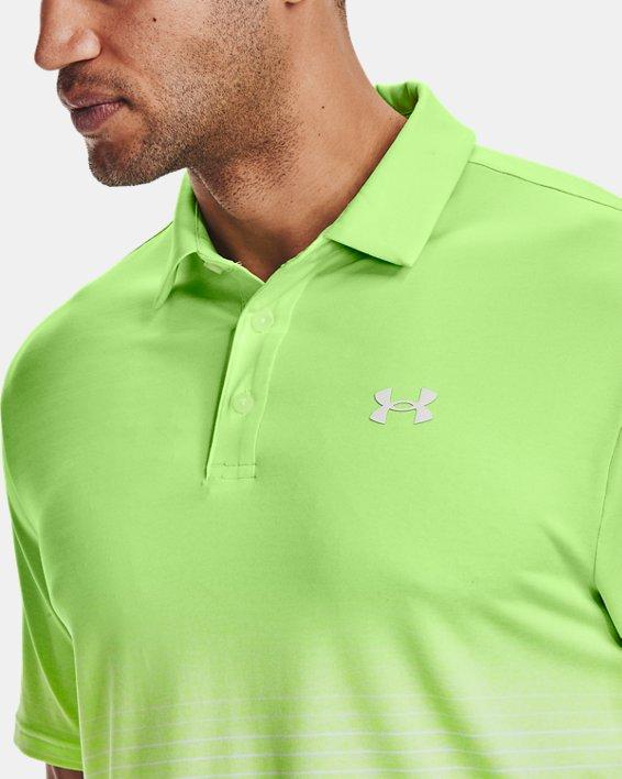 Men's UA Playoff Polo 2.0, Green, pdpMainDesktop image number 3