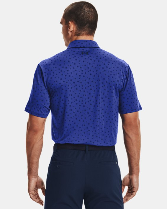 Men's UA Playoff Polo 2.0, Blue, pdpMainDesktop image number 1