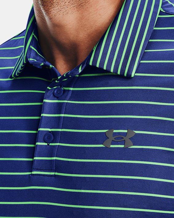 Polo UA Playoff 2.0 da uomo, Blue, pdpMainDesktop image number 3