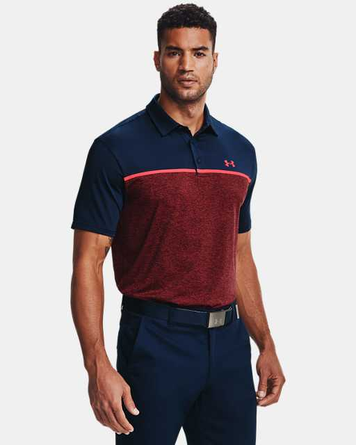 En la cabeza de Reunir desarrollando  Men's Polo & Golf Shirts | Under Armour